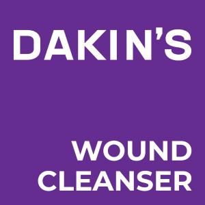Dakin's Wound Cleansers